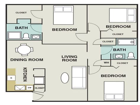 2 bedroom apartments 1 200 3 bedroom 1200 sq ft house plans 3 bedroom apartments map