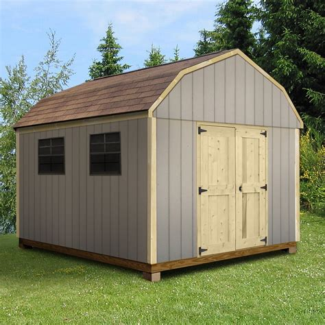 Smart Sheds by Quality Outdoor Structures T0812sb Smart Siding Barn 8 Ft