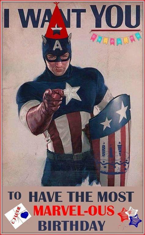 Captain America Birthday Card 25 Best Ideas About Happy Birthday Man On Pinterest