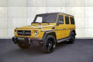official g power mercedes g63 amg with 645hp gtspirit