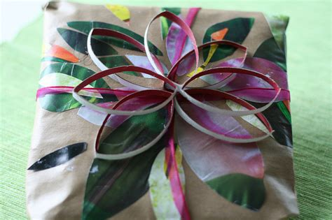 Handmade Gift Wrap - handmade gift wrapping arts to crafts