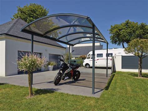 carport alu abri et carport en aluminium pour voiture cing car