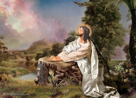 wallpaper yesus free jesus christ oil painting wallpapers for desktop free
