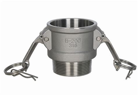 Vicenza Stainless Steel Tipe B connector camlock type b stainless steel low pressure 1 quot to 6 quot easy fix