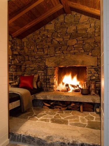 cabin fireplace design pictures remodel decor and ideas