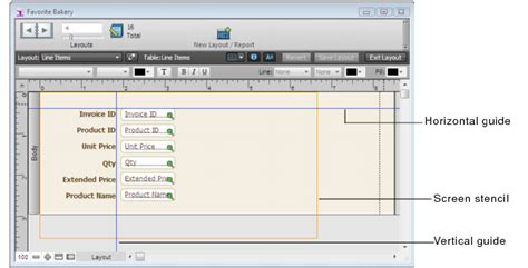 filemaker layout object names best practices for designing layouts