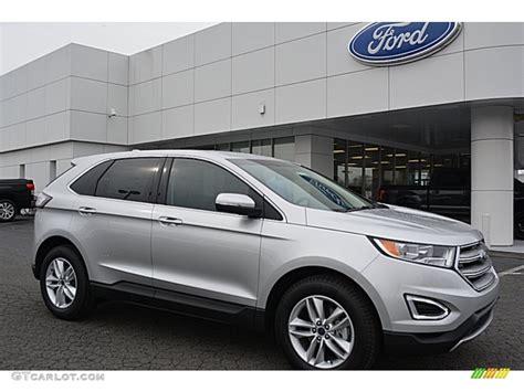 silver ford 2016 ingot silver ford edge sel 110550251 gtcarlot