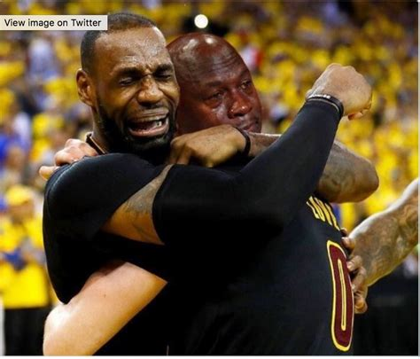Lebron James Crying Meme - memes about kanye west s quot famous quot video lebron james desiigner hiphopdx