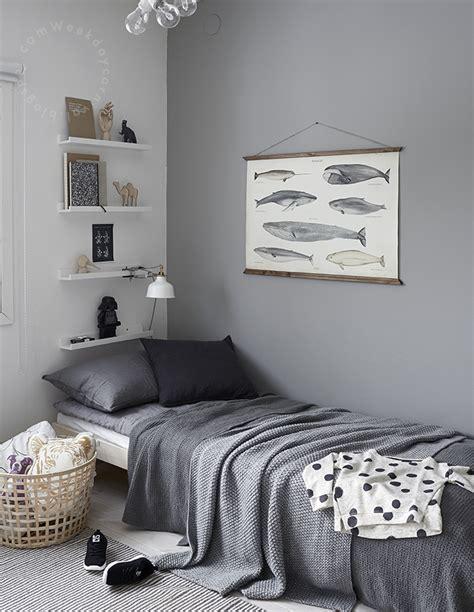 Color Pared Habitacion Bebe #8: Dormitorio-gris-ni%C3%B1os.jpg