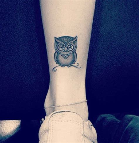 tattoo back ankle owl tattoo at the back of your ankle my tattoos