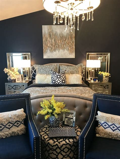 Navy And Yellow Bedroom Decor by Best 25 Navy Bedroom Decor Ideas On Navy
