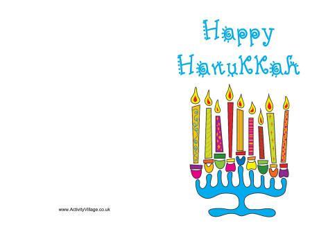 printable free hanukkah cards happy hanukkah card