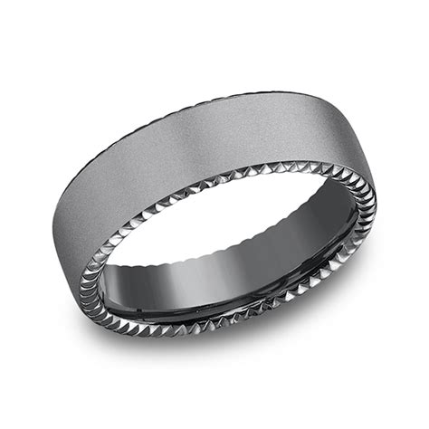 Wedding Bands Ta by Tantalum Comfort Fit Design Ring Cf716525 Wedding Bands