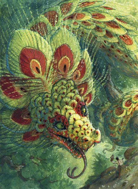 imagenes reales de quetzalcoatl greeting the quetzalcoatl by camelid on deviantart