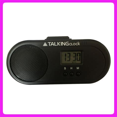 talking alarm clocks  adultsspanish talking clock