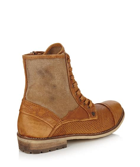 mens distressed leather boots feud s distressed leather boots designer footwear