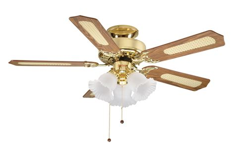 brass ceiling fan with light fantasia belaire 42 polished brass ceiling fan light 110330