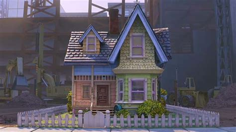 film up home video pixar s up house with picket fence hooked on houses