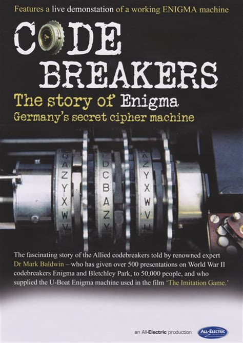 enigma film book codebreakers the story of enigma stage show