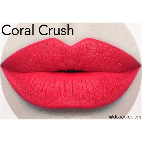 Moodmatcher Liquid Matte Coral Crush 17 best images about lippie on agave lip mask