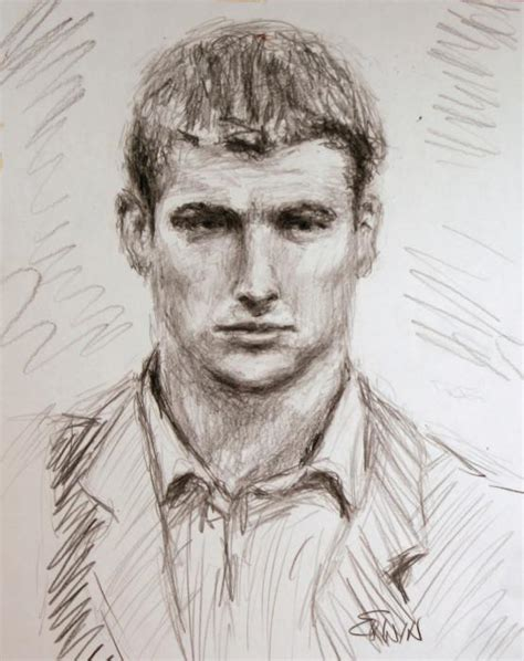 sketch of a young man william erwin jpg