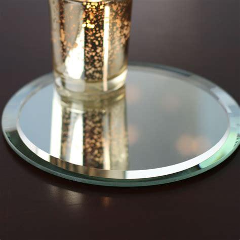 Mirror Center Pieces Beveled Mirror Centerpiece Mirrors Wedding