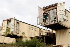 Transforming steel shipping containers into homes green living