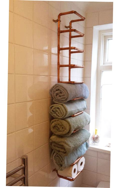 bathroom towel ideas bathroom towel storage ideas creative 2016 ellecrafts