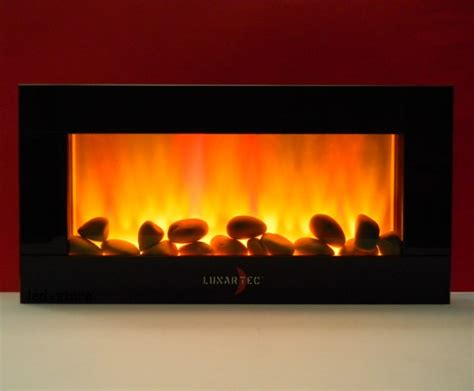 led wall fireplace with trueflame leds electric fireplace