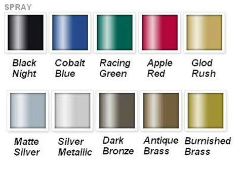 lovely rustoleum metal paint colors 7 rust oleum metallic spray paint color chart newsonair org