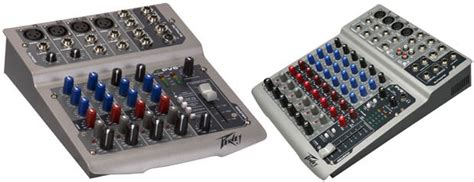Mixing Console Mixer Peavey Pv8 8channel Limited user reviews peavey pv 8 usb audiofanzine