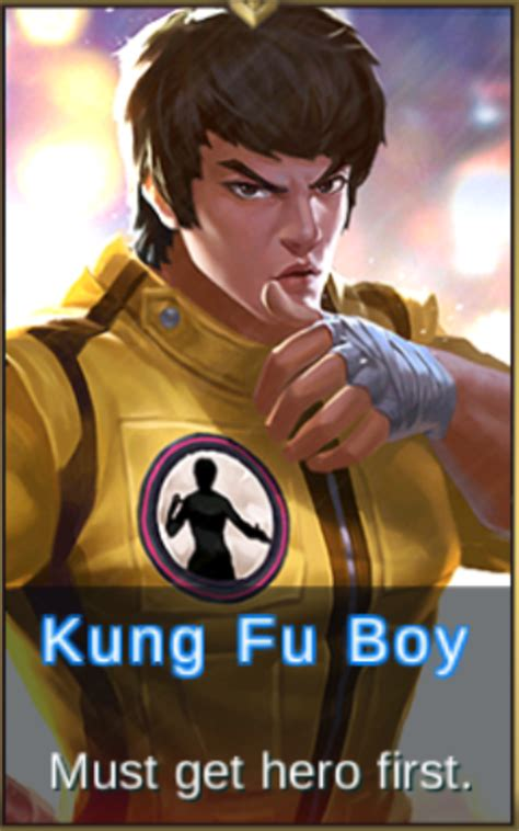 wallpaper mobile legend chou chou kung fu boy review mobile legends bang bang