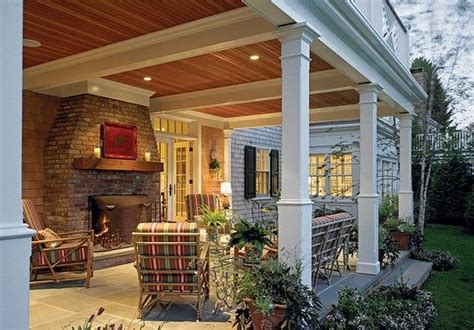 covered back porches covered back porch love the ceilings like comment