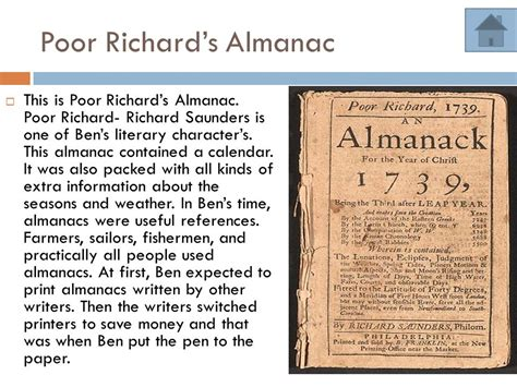 poor richard s almanac for 1850 as written by benjamin franklin for the years 1733 1734 1735 classic reprint books benjamin franklin time capsule ppt