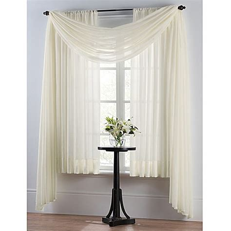 voile sheer curtain panel smart sheer insulating voile window curtain panel bed