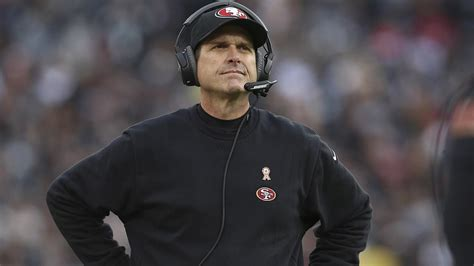 head couch san francisco 49ers head coach jim harbaugh agree to part