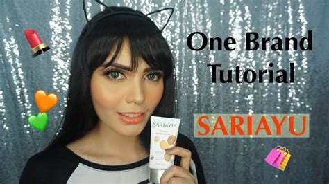 Sariayu Two Way Cake 01 Light one brand tutorial sariayu bahasa