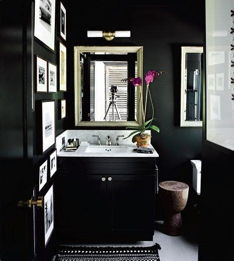 black bathroom cabinet ideas black bathroom black walls black cabinets powder room