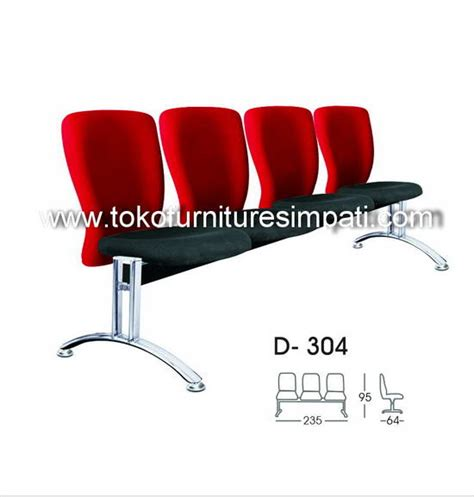 Kursi Ruang Tunggu 3 Seater kursi kantor office chair meja kerja kursi putar