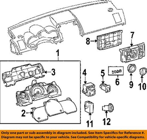 find scion oem 5591121060 cluster switches heater