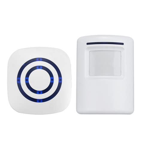 doorbell chime sensor wireless infrared motion activated pir sensor entry
