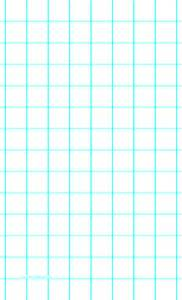 One line per inch and heavy index lines on legal sized paper paper