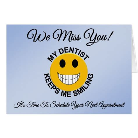 dental reminder card template dentist dental patient appointment reminder card zazzle