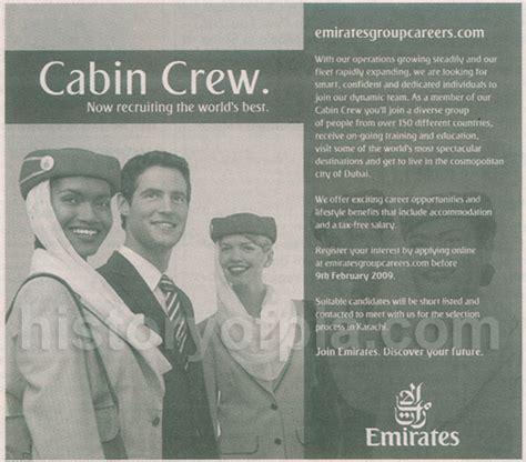 emirates hiring cabin crew from pakistan history of pia