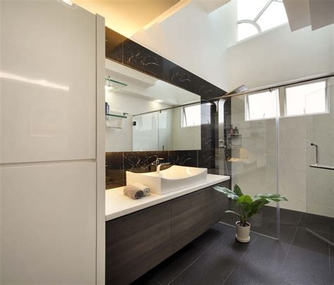 Modern Bathrooms Ltd Summer Gardens Modern Bathroom Singapore By The Interior Place S Pte Ltd