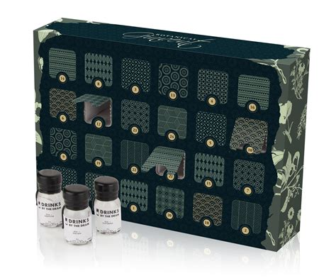 Calendã De 2015 Ginvent Calendar Gin Filled Advent Calendar 2015