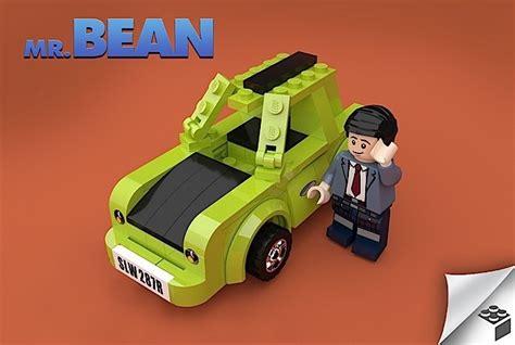 man designed   bean lego play set complete