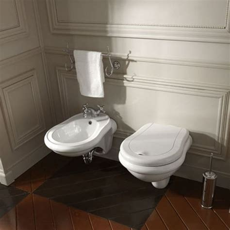 Wc Und Bidet In Einem by Wall Hung Wc And Bidet Retr 242 Kerasan Wall Mounted