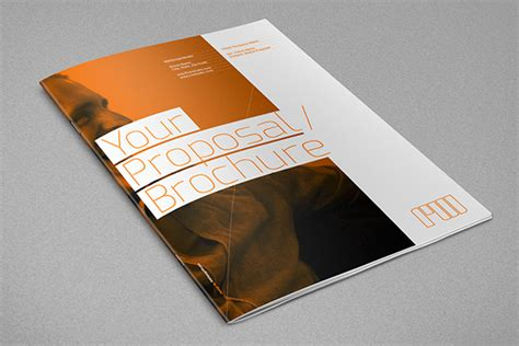 graphic design proposal behance agency proposal template on behance