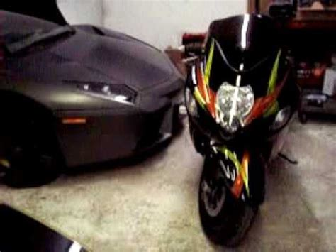 Alarm Suzuki motorcycle alarm i sell for sale installed on my custsom